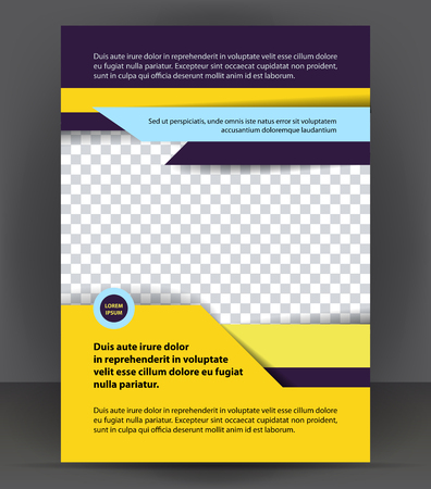 flyer background: Magazine, flyer, brochure, cover layout design print template