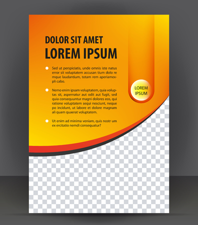 layout design template: Magazine, flyer, brochure, cover layout design print template