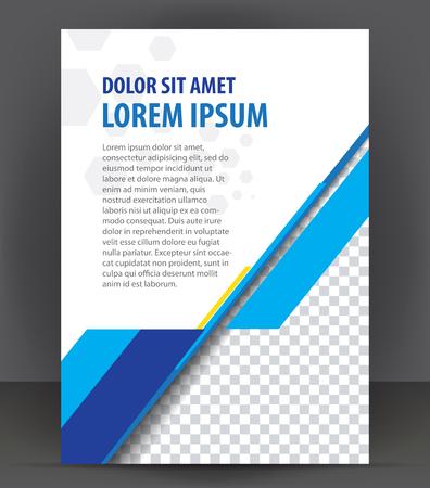 Magazine, dépliant, brochure, couverture mise en page modèle de conception d'impression Banque d'images - 48154258