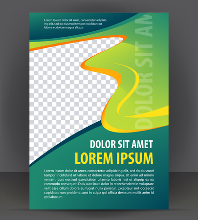 flayer: Magazine, flyer, brochure, cover layout design print template