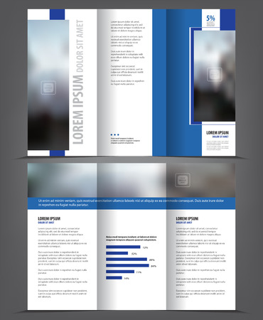 Folded Brochure Template Funfpandroidco - 3 page brochure template