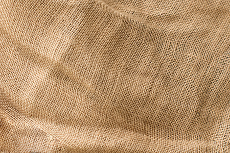 natural fabric linen texture, beige color, unbleached material for design