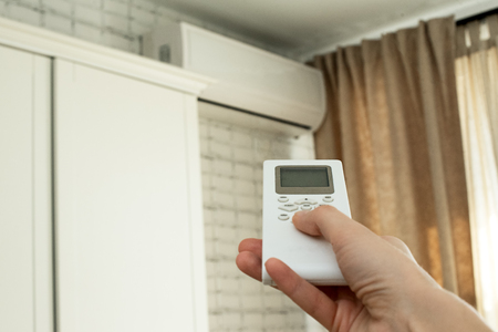 air conditioning, temperature control with remote control, cooling