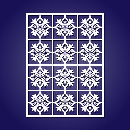 grecas: azulejos decoración oriental ornamento de papel o calados
