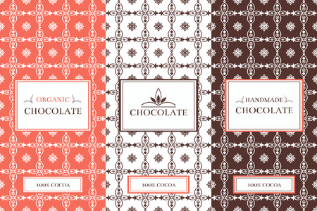contemporary taste: Chocolate Packaging Set