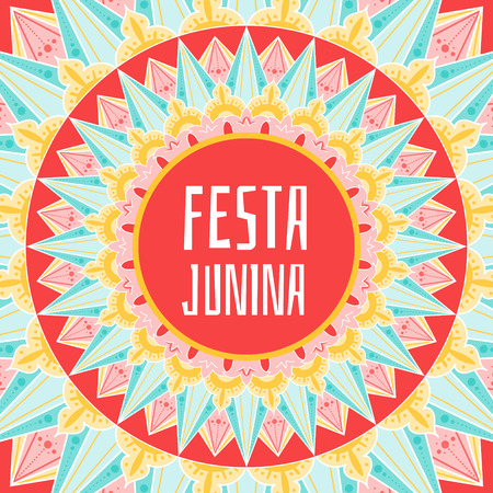 Festival banner for Brazilian holiday party.