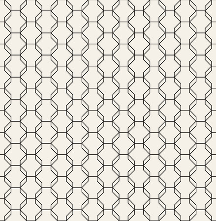 Octagon Pattern Vector Seamless Geometric Grid Texture Modern