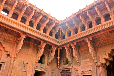 the complex of buildings of the Red Fort, the element of the building