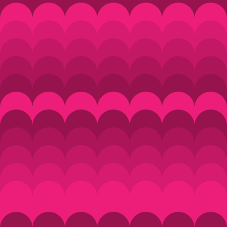 Seamless pattern. Waves of pink shades