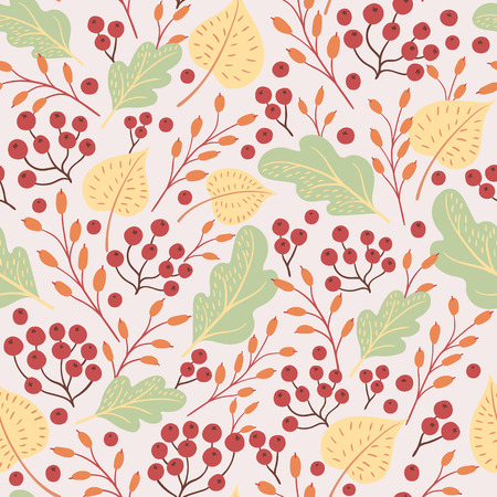 Seamless pattern. Vector illustration for thanksgiving day.