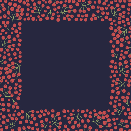 Vector background. Seasonal natural illustration