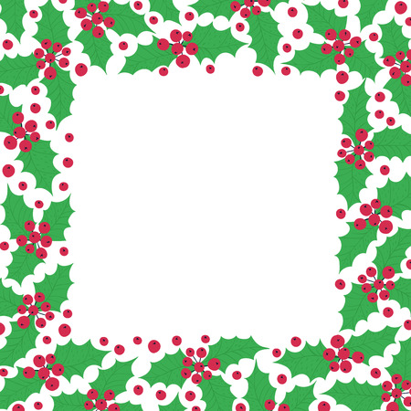 Christmas elements on a white background. Vector illustration. Happy new year 矢量图像
