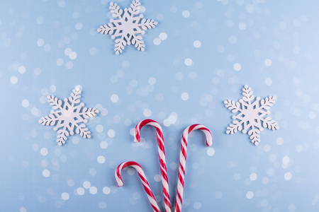 Christmas Gift Boxes Collection With Decorations And And Candy