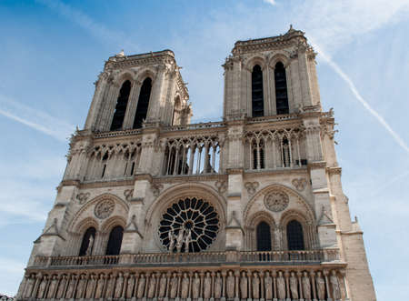 Notre Dame de Paris church, France photo