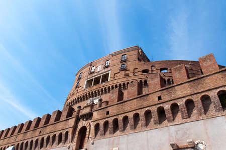 mausoleum: The Mausoleum of Hadrian, known as Castel Sant Angelo.