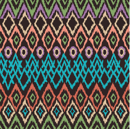vector pattern.  perfect seamless texture, retro colors photo