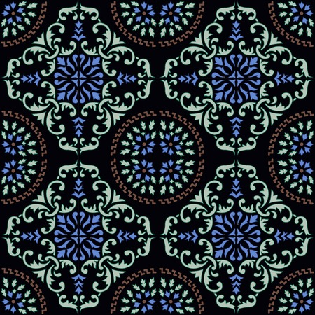 nostalgy: seamless pattern. Abstract hand drawned endlless texture, EPS 8 format