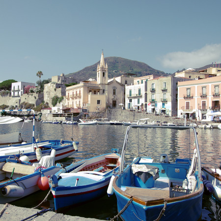 stromboli: Island of Lipari, Aeolian Islands, Sicily, Italy
