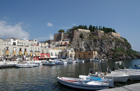 Island of Lipari, Aeolian Islands, Sicily, Italy photo
