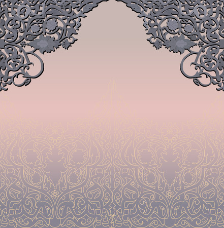 design template. vector background. antique persian style