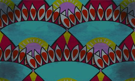 african seamless vector pattern