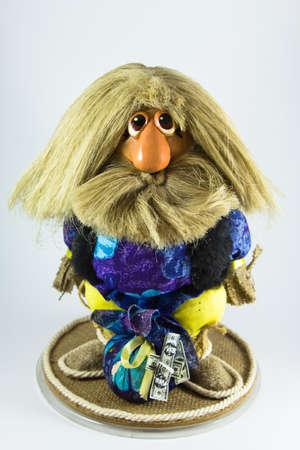 Goblin guarded hand-made home talisman photo
