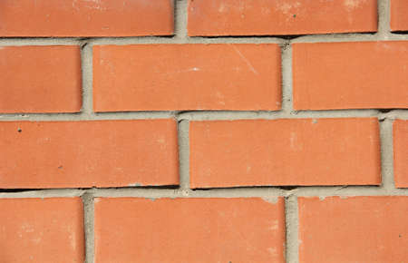 red wall: red brick wall, background