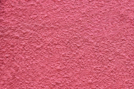 red wall: red plaster wall, background Stock Photo
