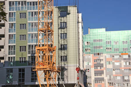 residential construction: The construction of high-rise residential buildings