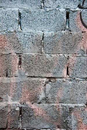 porous: painted brick wall background