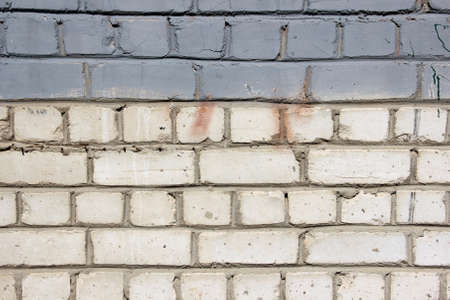 sprayed: painted brick wall background