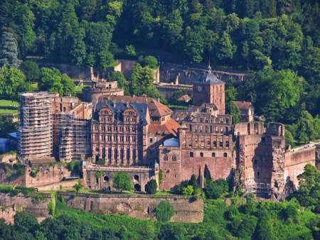 heidelberg castle photo