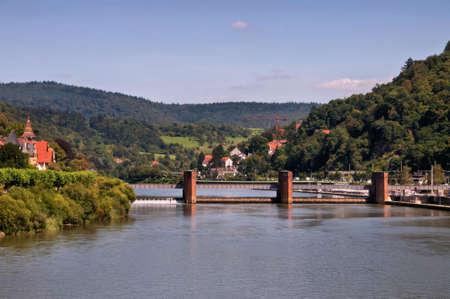 canal lock: Heidelberg canal lock