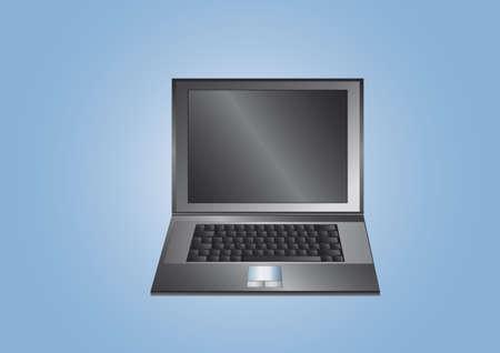 laptop black photo