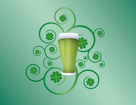 St patricks day pint Stock Vector - 7396260