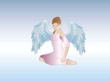 guardian angel: female guardian angel