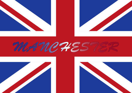 manchester: Manchester flag