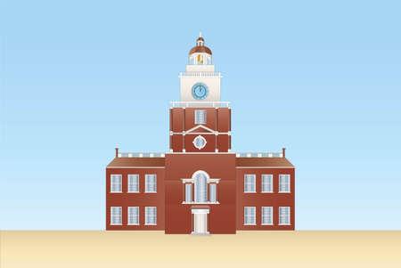 Independence hall à Philadelphie