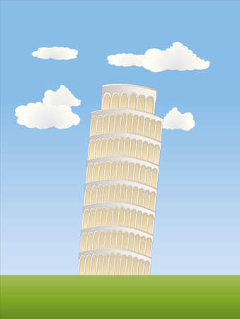 the leaning tower of pisa: leaning tower in pisa