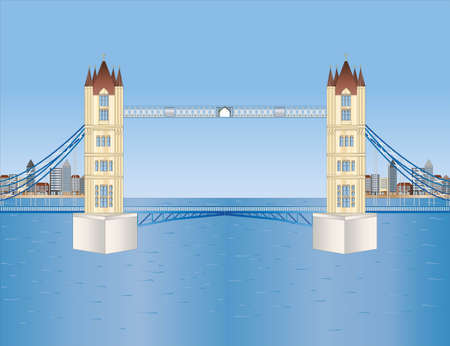 stone age: tower bridge in London