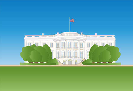 white house Stock Vector - 9259105