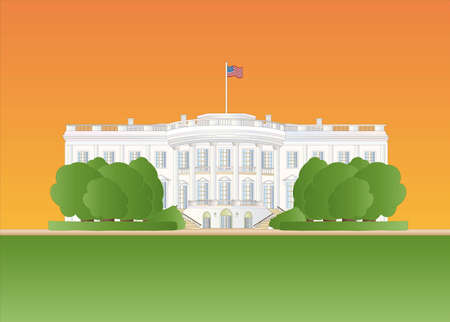Casa Blanca al atardecer