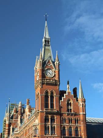 St. Pancras London Stock Photo - 9634174