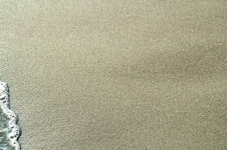 humid: Texture of humid sand on seaside of the pacific ocean. Stock Photo