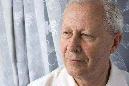 portrait of a senior person  photo
