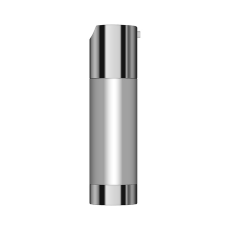 Realistic Cosmetic bottle can sprayer container. Dispenser for cream, soap, and other cosmetics. Vettoriali