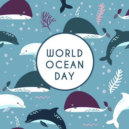 World ocean day.