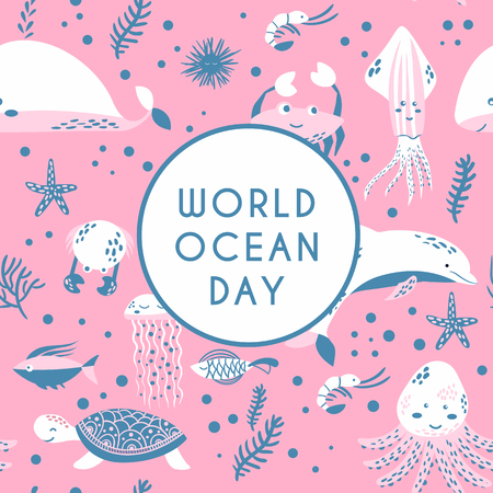 World ocean day 写真素材