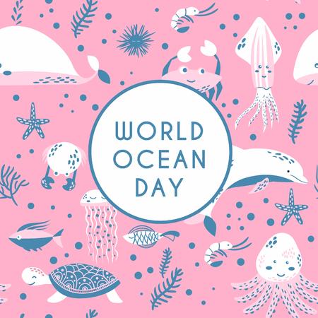World ocean day Archivio Fotografico - 101541795