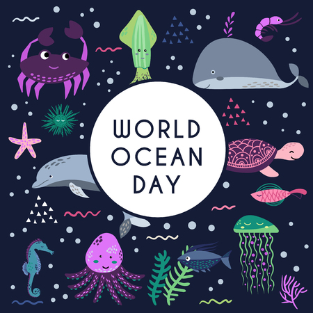 World ocean day 写真素材